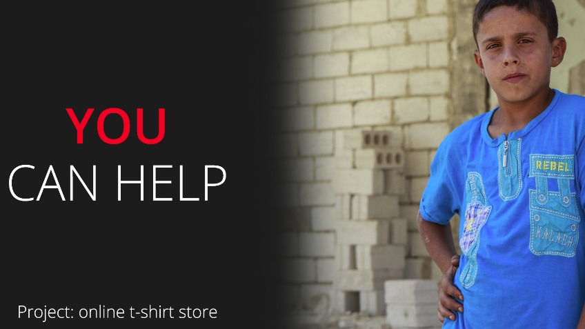 Sponsor online t-shirt store w/45% profit to STC.