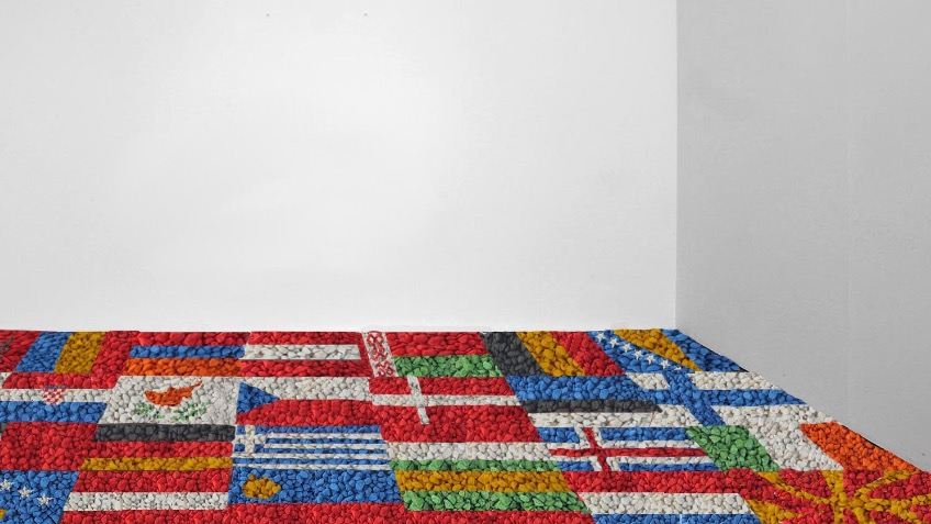 'Flags' - Participatory artwork by Dolly Kershaw