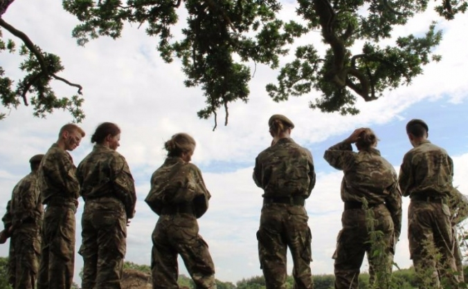 The dukeries academy combined cadet force image