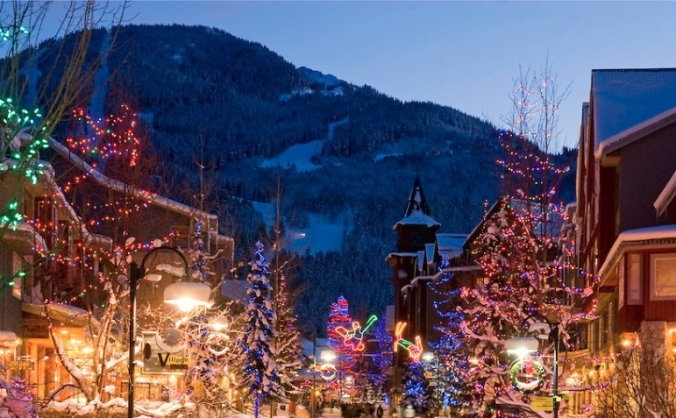 Cowbridge community christmas lights image