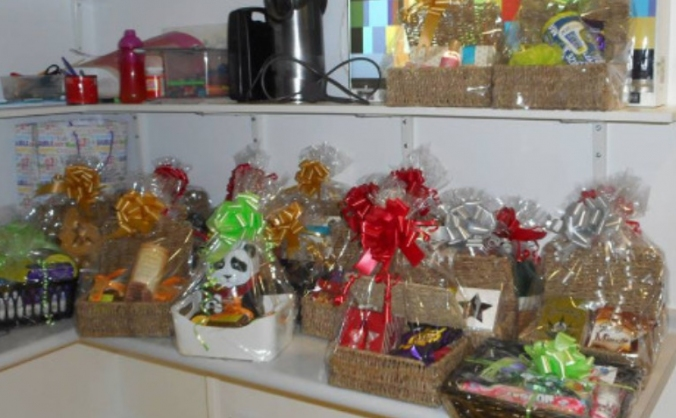 Hampers for hospitals- christmas 2016 image