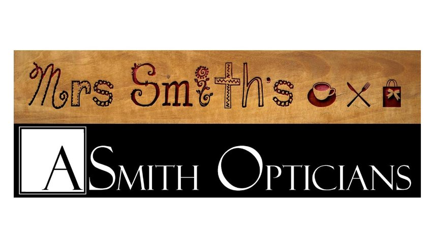 Mrs Smith's Cafe & A Smith Opticians, Jennyfields