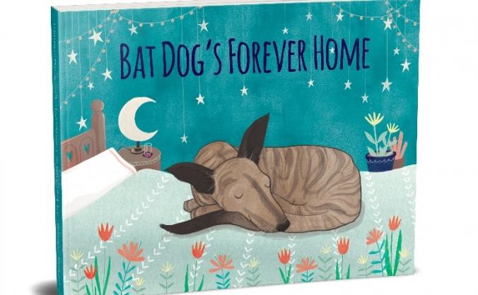 Bat dog's forever home image