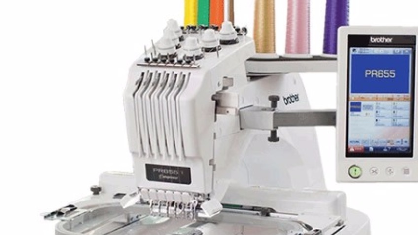 To Buy an Embroidery Machine to Grow Our Buisness