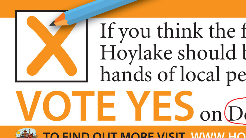 "Hoylake Vision ""Yes"" Campaign"