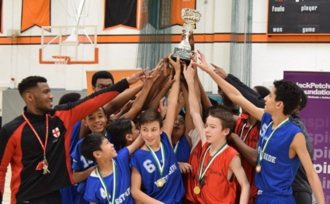 London school basketball leagues & competitions image