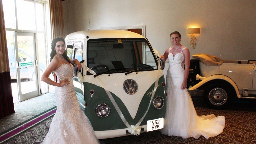 VW Campervan Photobooth by Reload Wedding Services