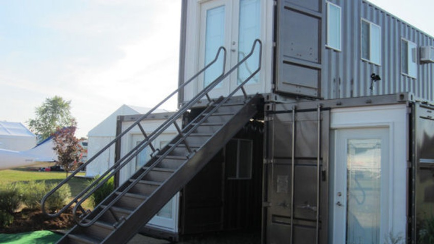 Affordable Eco Home Container Converts A Community