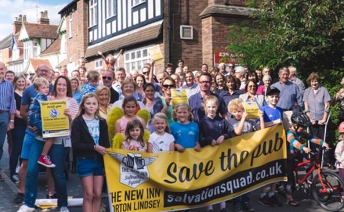 Save the new inn, norton lindsey image