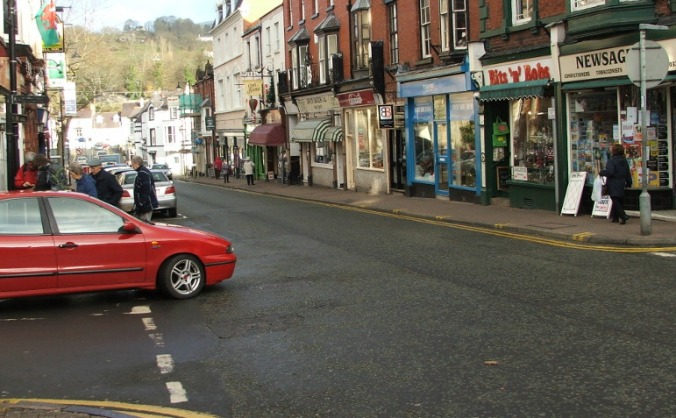 People & traffic in llan image