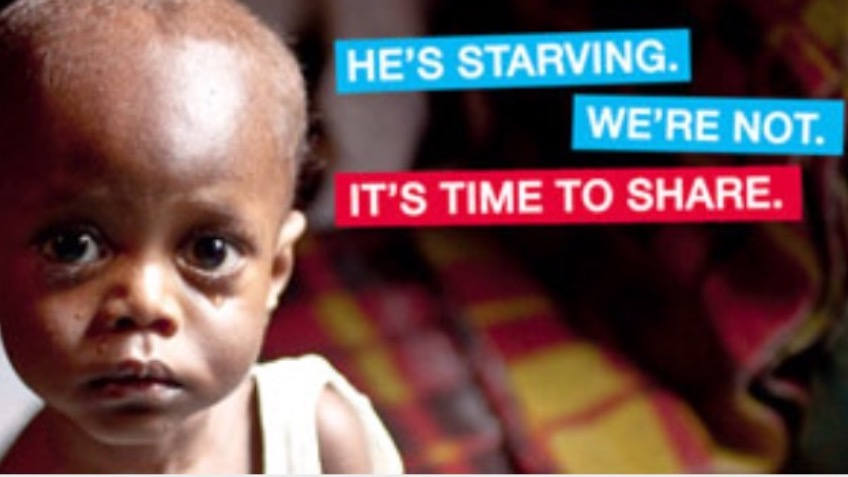 Help starving children in Africa this Christmas