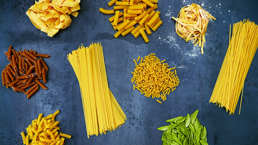 Pasta Bar - Create your own pasta food!