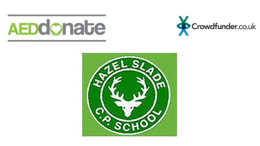 Aed For Hazel Slade Primary School A Community Crowdfunding Project