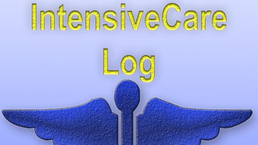 iOS and android IntensiveCare Log book