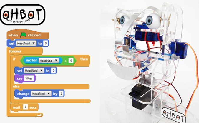 Ohbot Robot - Development Kit