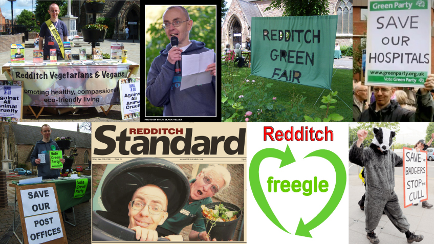 Elect Kevin White as Green MP for Redditch