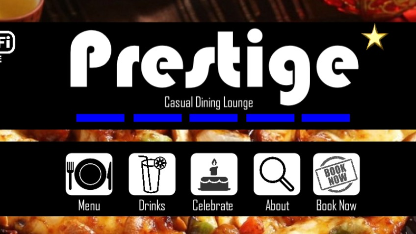 Prestige Bolton, Casual Dining lounge