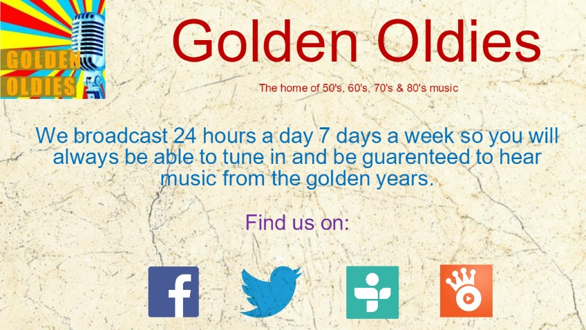 Help us fund the running costs of Golden Oldies
