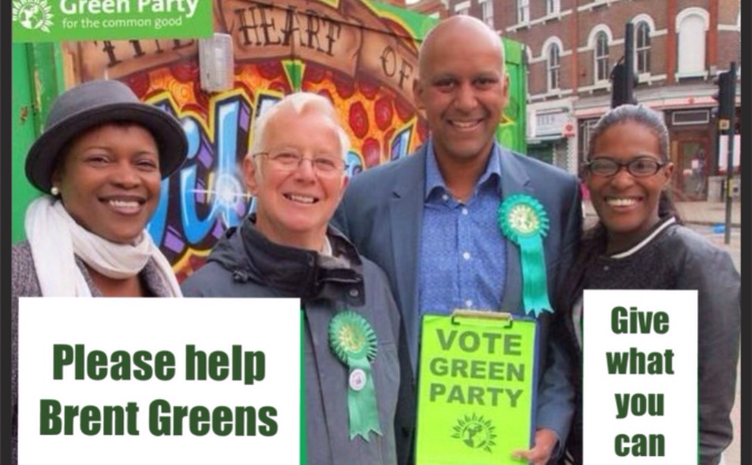 Help Fund Brent Green Party Election Deposits