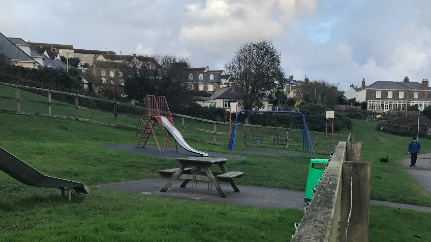 Perranporth playground update