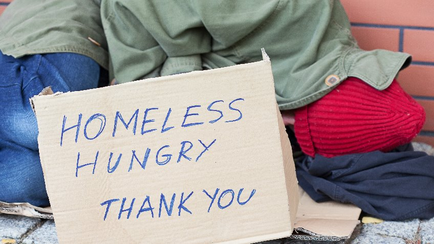 Feed  & Clothe The Homeless at Christmas