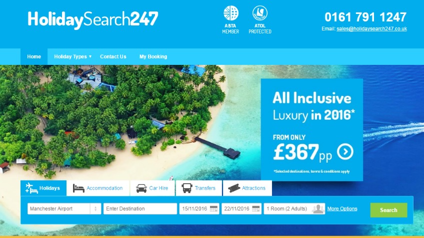 Lets grow HolidaySearch247 into a National Brand