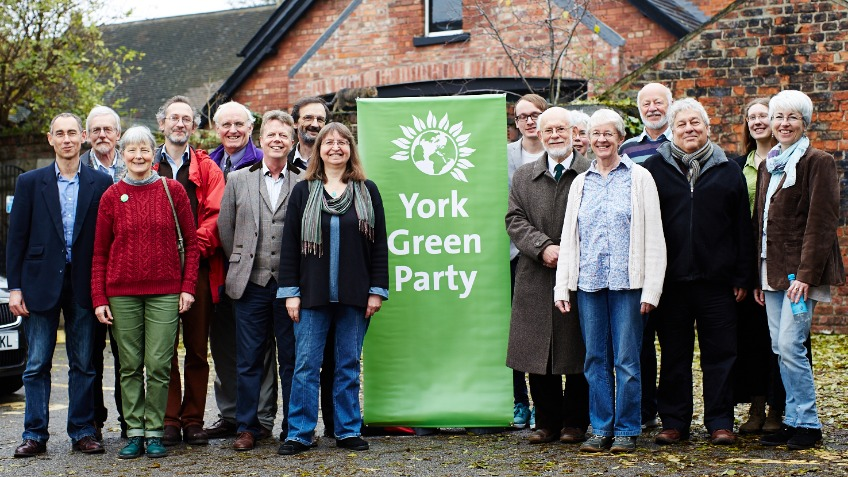 Elect the Green Party in York