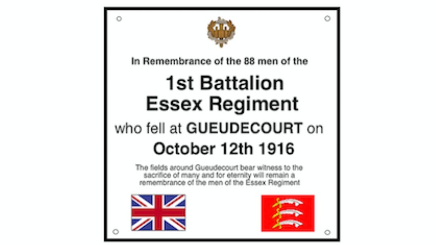 Essex Plaque Appeal