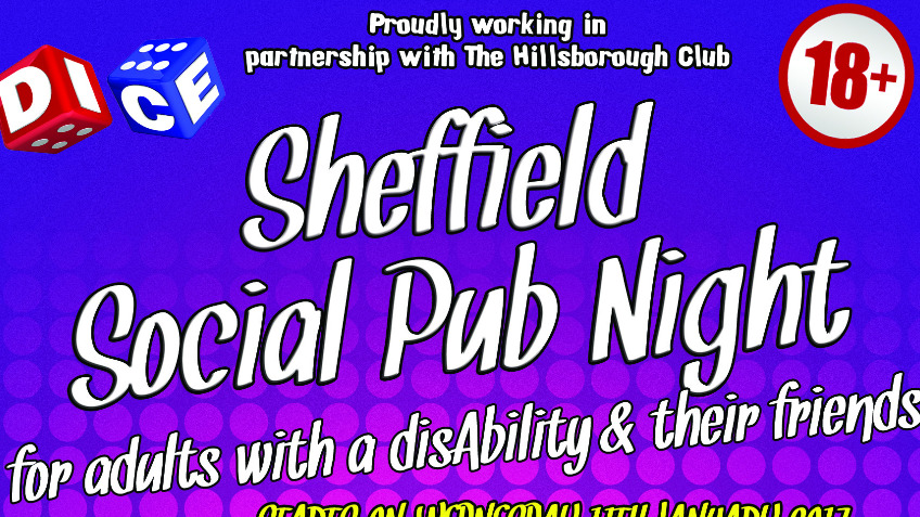 Sheffield Social Pub for adults with a disability