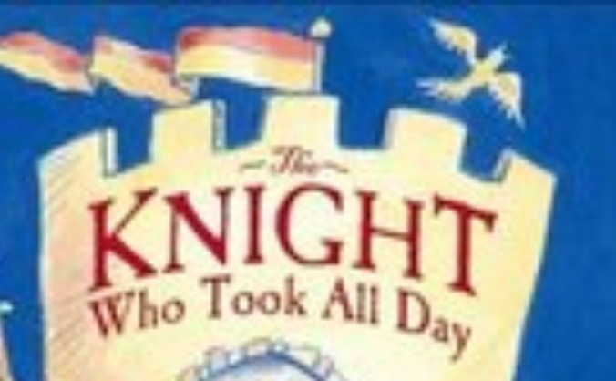 The knight who took all day image
