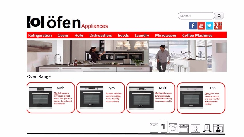Ofen appliances
