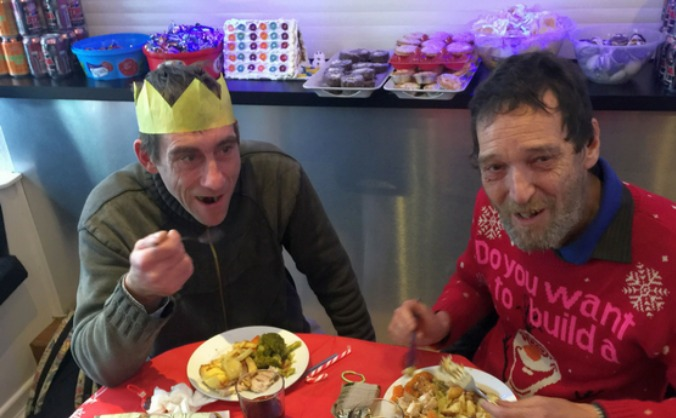 Help the homeless in newquay this christmas image