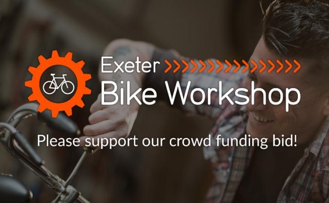 Exeter bike workshop image