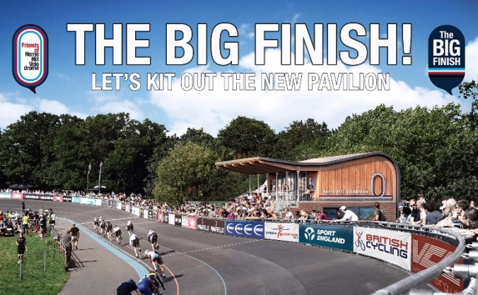 Friends of herne hill velodrome - the big finish image