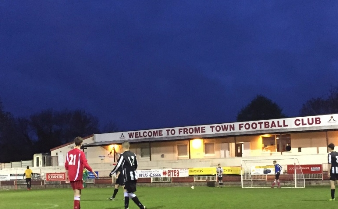 Frome town fc floodlight appeal image