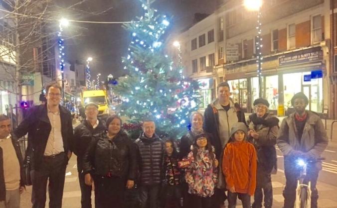 Deptford christmas tree image