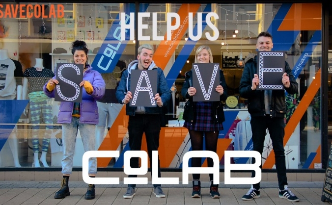 Help support local artists & save co-lab! image