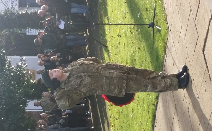 Ossett detachment army cadet force