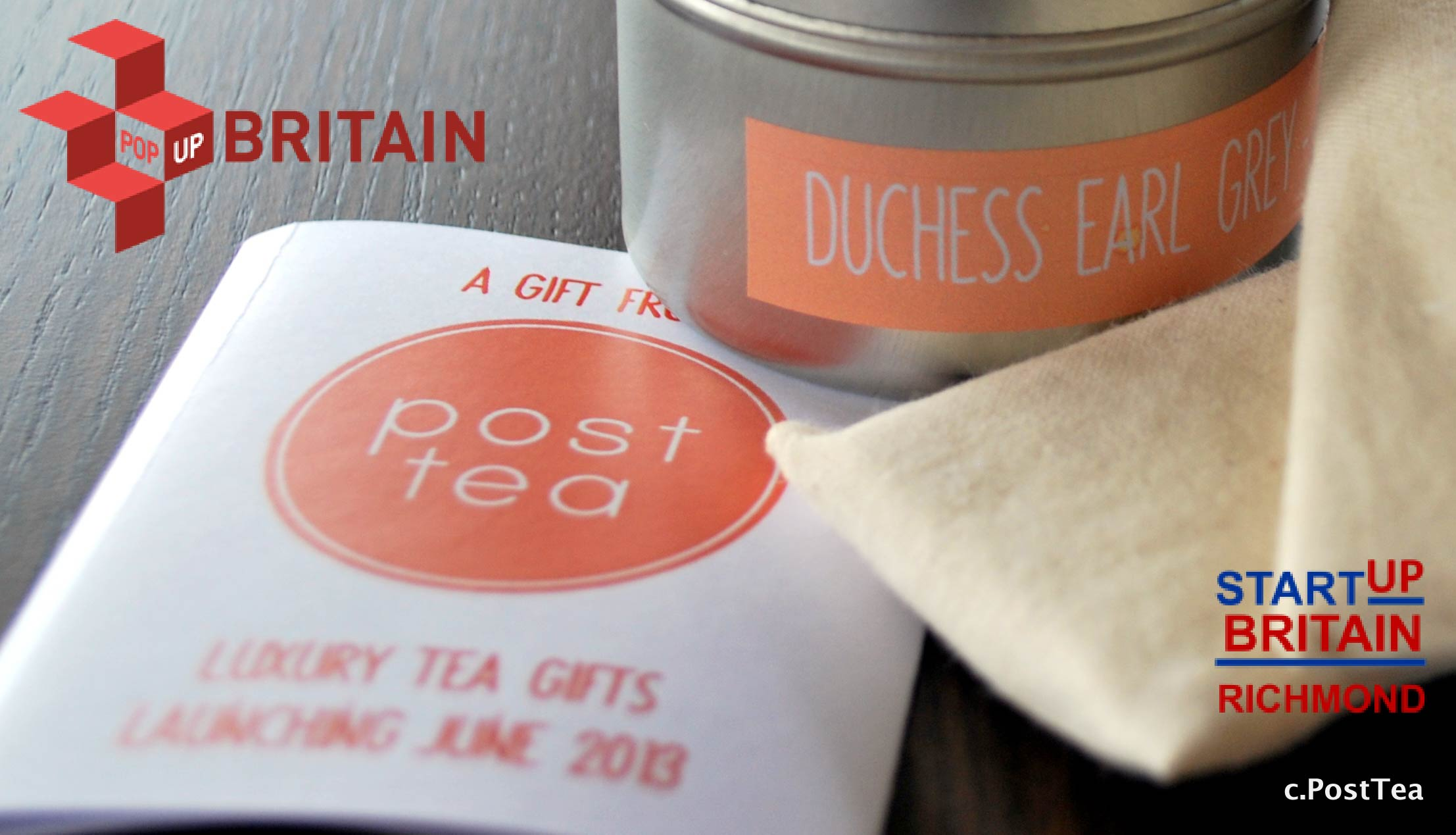 PostTea Meets Pop Up Britain!