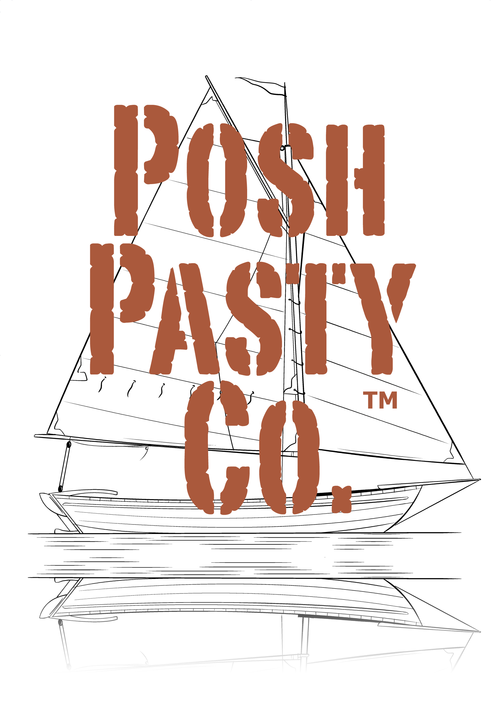 Posh Pasty Co logo
