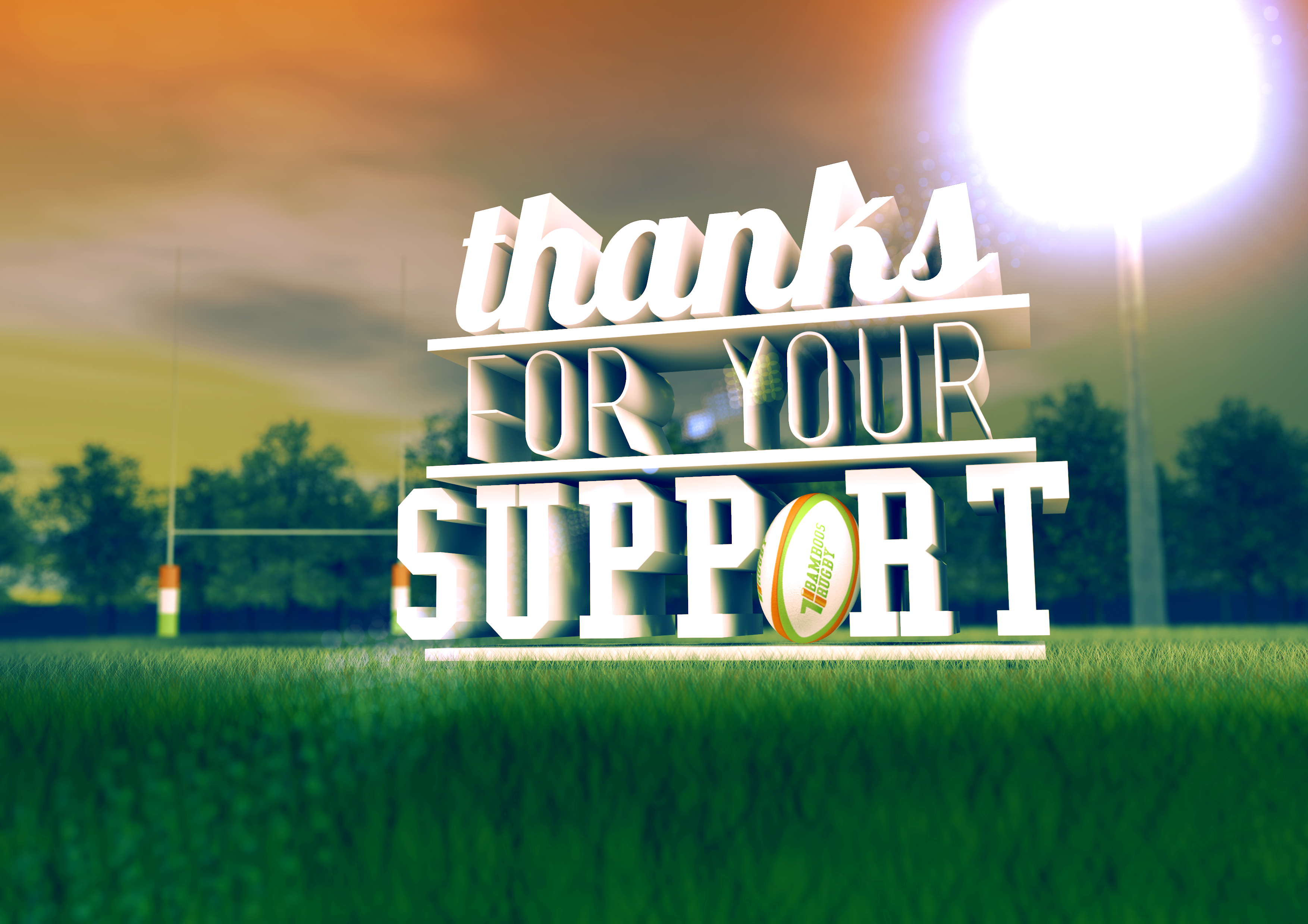 how to say thank you for their support