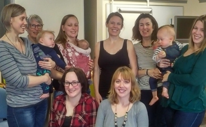 Baby café breastfeeding support group image