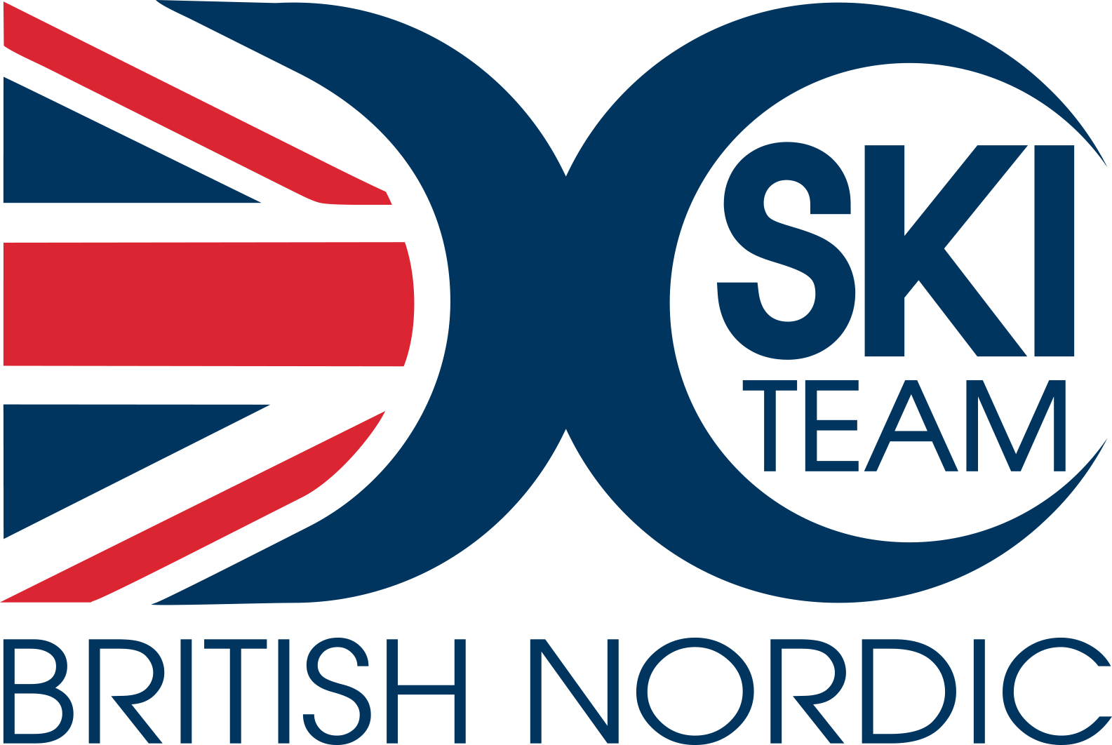 British Nordic Ski Team Logo