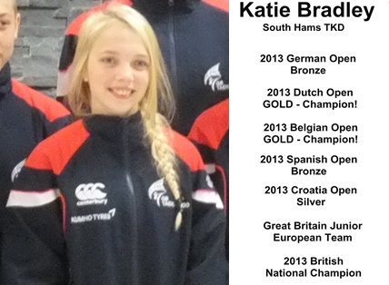 katie bradley great britain junior worlds team