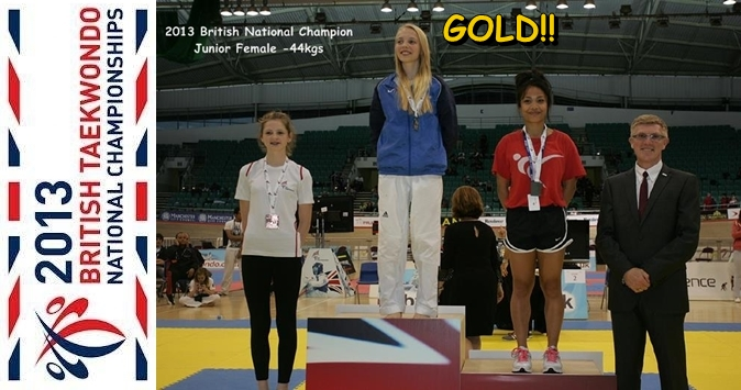 katie bradley 2013 british national champion female juniors -44kgs