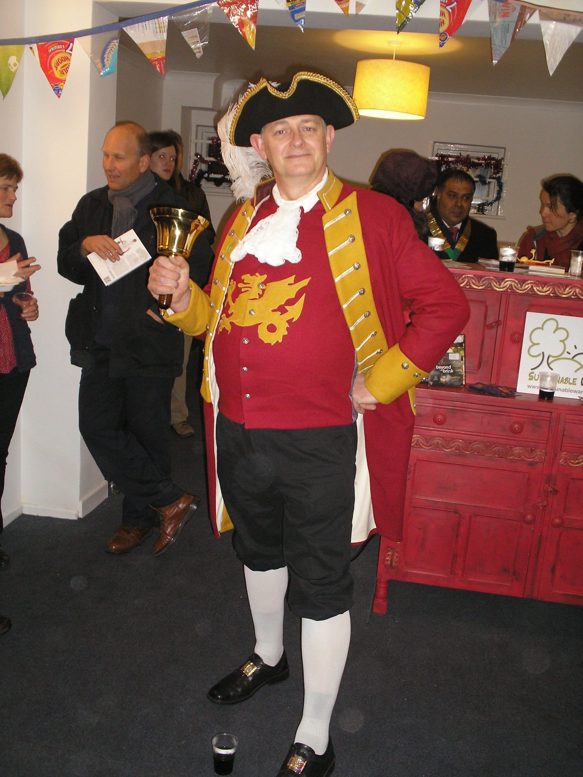 Dave the Town Cryer