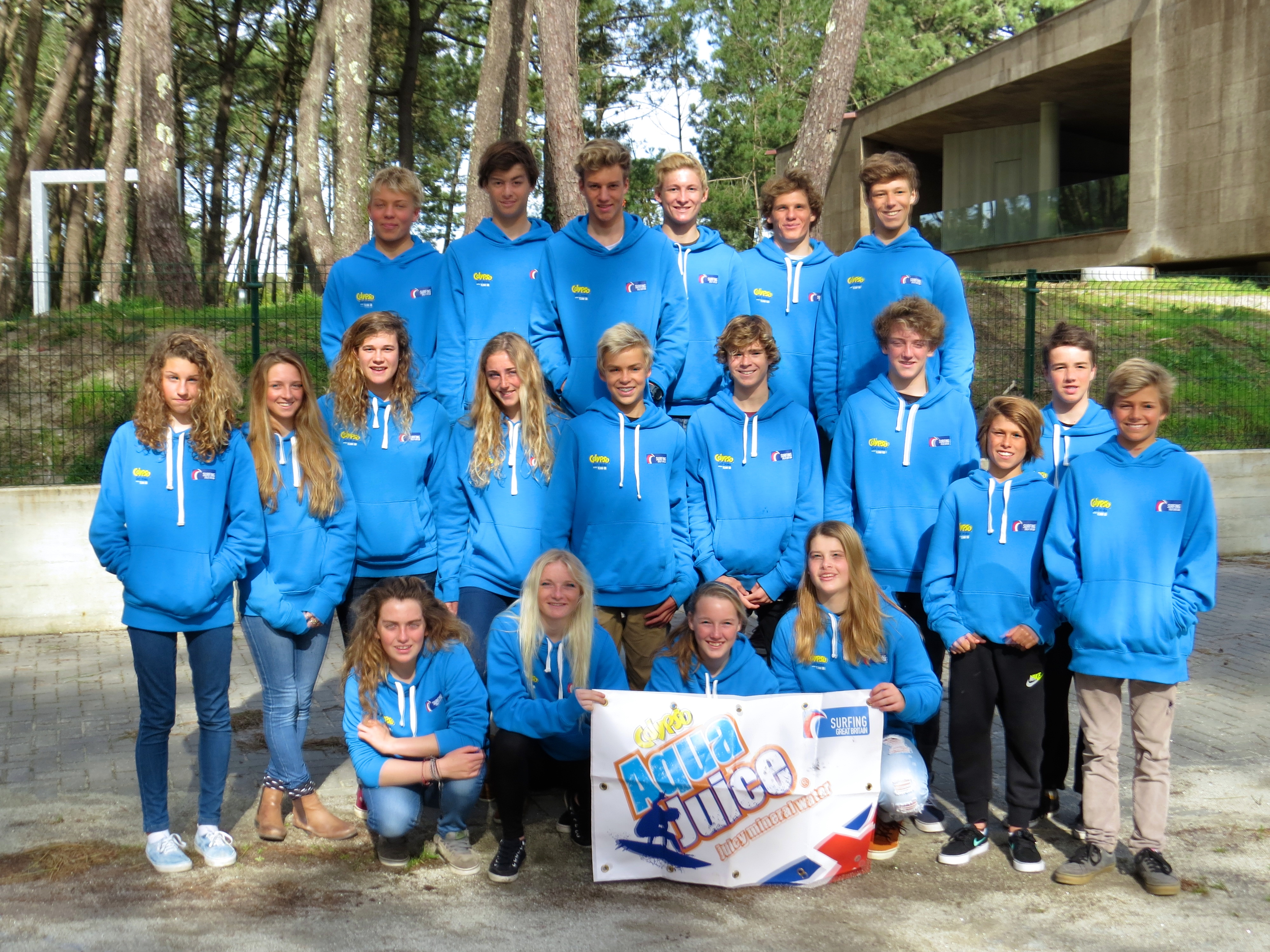 GB Junior Surf Team