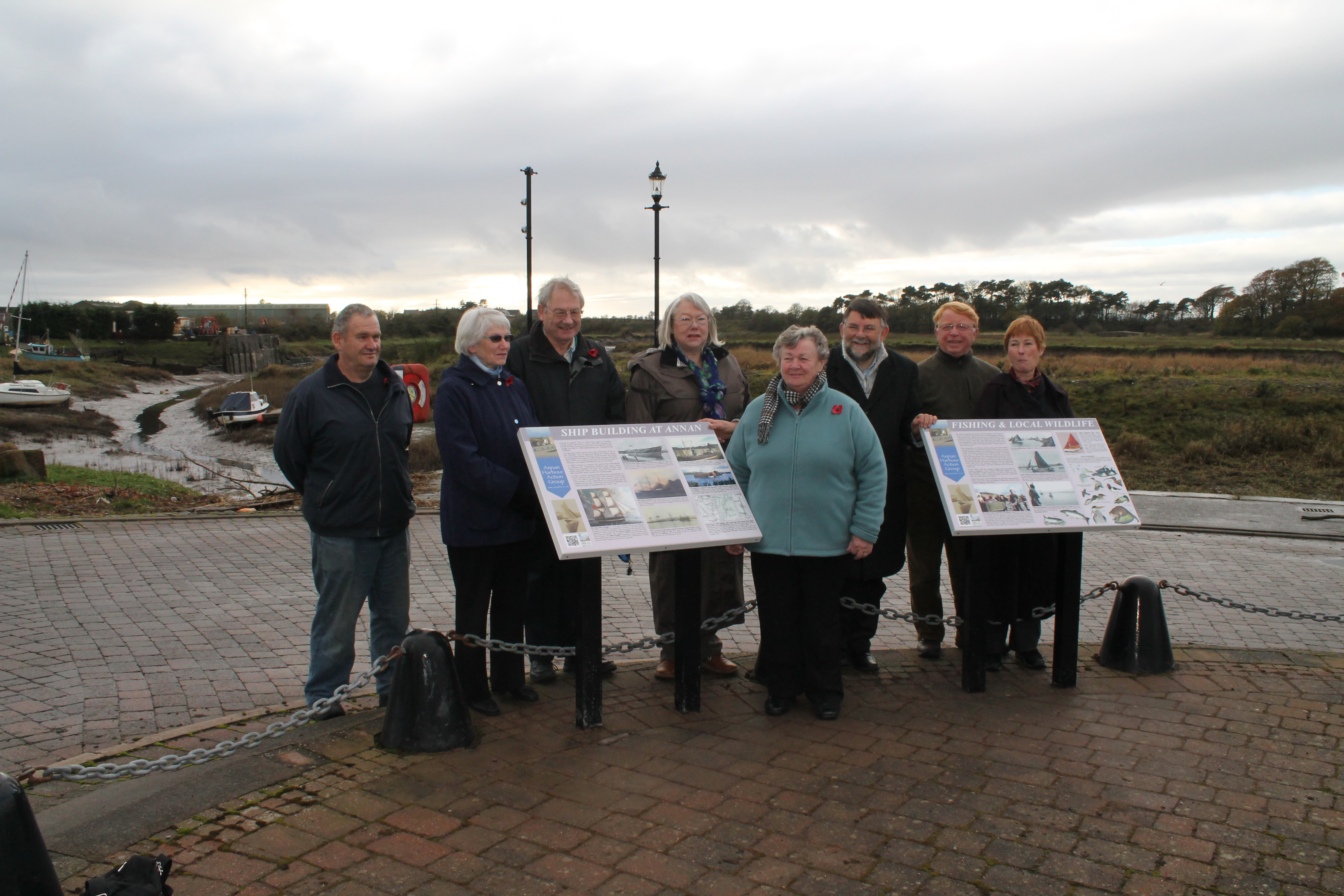 New notices at Annan Harbour