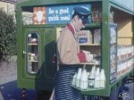 1950s Milkman and float