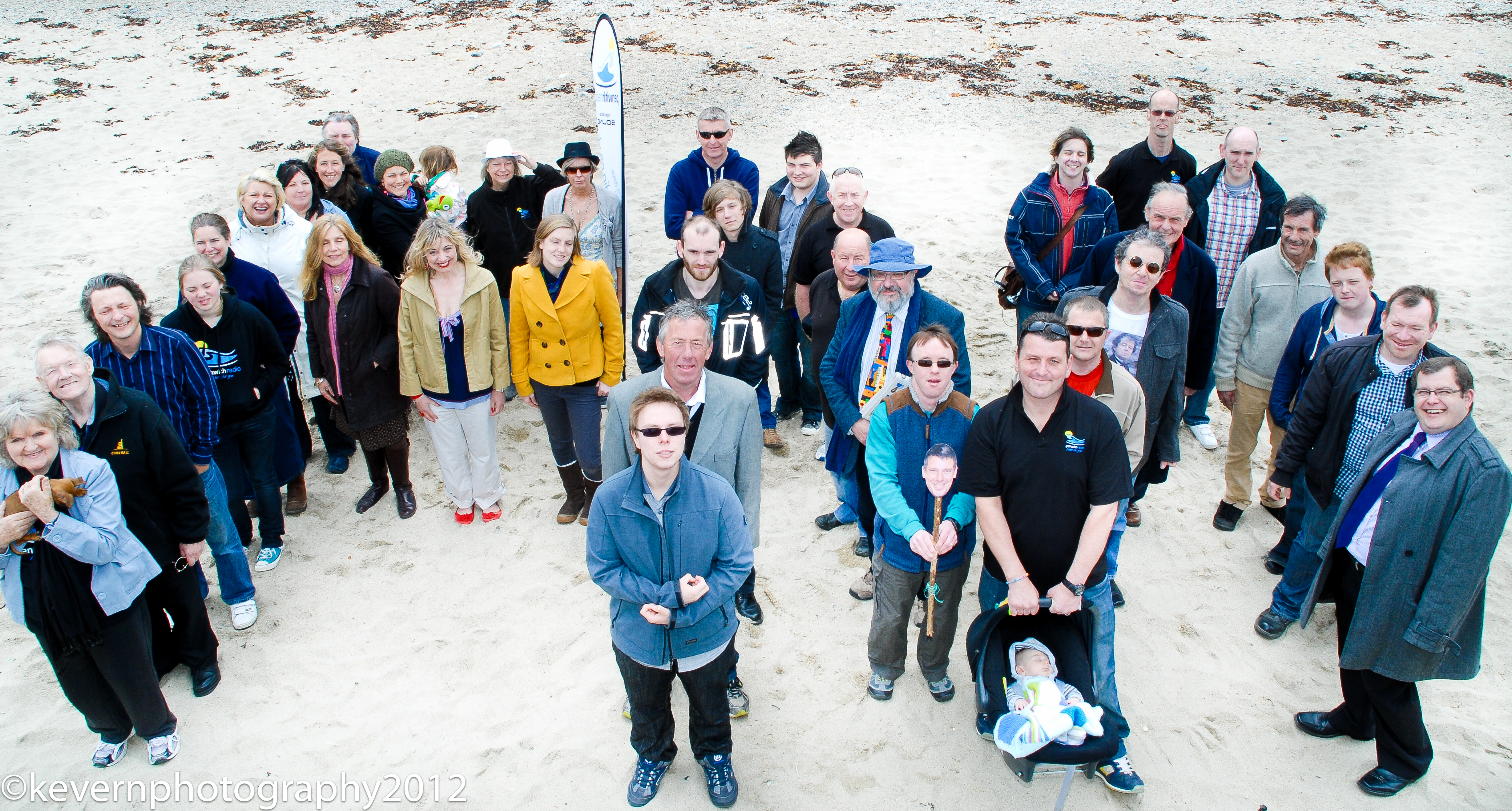 Penwith Presenters hit the beach